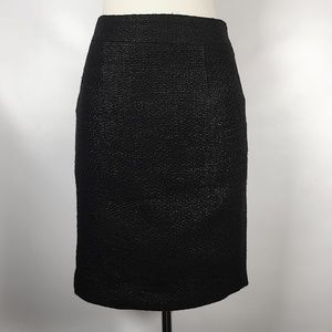 Banana Republic | Coated Tweed Pencil Skirt sz 00P